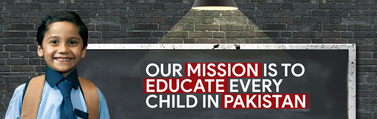 Educate every child in pakistan